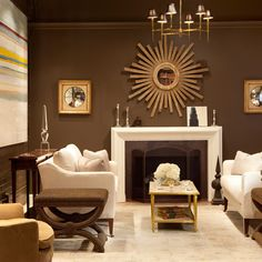 1000 Images About Living Room Wall Colors On Pinterest Chocolate Brown Sof