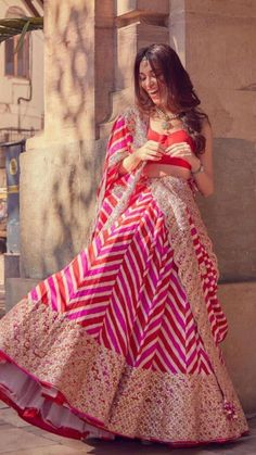 Indian Bridal Outfits, Indian Bridal Fashion, Indian Fashion Dresses, Indian Designer Outfits, Wedding Lehenga Designs, Lehenga Saree Design, Bridal Lehenga Collection, Indian Attire, Indian Wear