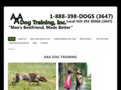 New Dog Training Services added to CMac.ws. AAA Dog Training in Baltimore, MD - http://dog-training-services.cmac.ws/aaa-dog-training/1170/