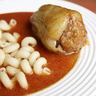 Fotografie receptu: Plněná paprika s rajskou omáčkou