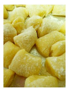 Nhoque - Gnocchi dough
