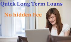 With the aid of quick long term loans, you can swiftly access the desired amount of cash with complete ease and convenience.