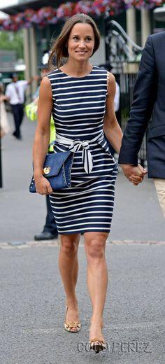 Pippa at Wimbledon on 7/2/2014