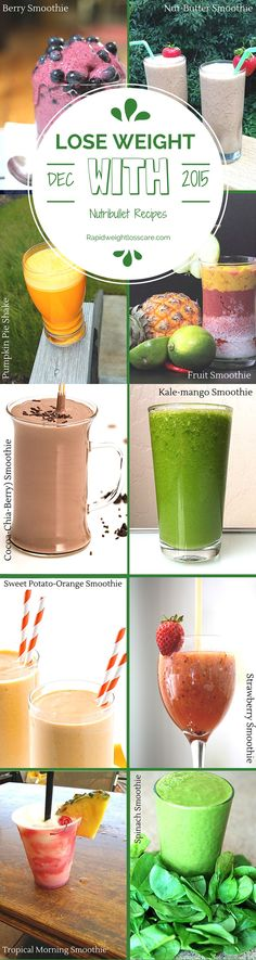 Lose Weight With Nutribullet Recipes Related To My Favorite Smoothies. All Under One Roof.   From Now Create You's Heart Desires With Nutribullet.  Visit: http://www.rapidweightlosscare.com/lose-weight-with-nutribullet-recipes/