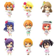 Color Colle DX - Love Live! Vol.2 8Pack BOX