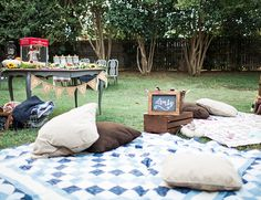 Backyard Campfire Party – Inspired by This