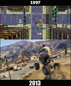 Twitter / HistoricalPics: How Grand Theft Auto changed ...