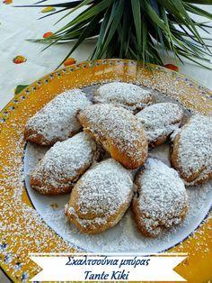 Greek Sweets, Greek Desserts, Greek Recipes, Desert Recipes, My Recipes, Cookie Recipes, Favorite Recipes, Sweets Cake, Sweet Tooth
