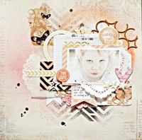 A Project by Umenorskan from our Scrapbooking Gallery originally submitted 04/09/13 at 02:48 PM