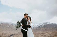 rustic wild glencoe elopement wedding    maureen du preez photography