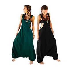 2d717fb295 Aladdin Harem Jumpsuit Overalls Women by manaKAmana on Etsy Summer Jumpers