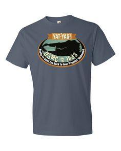 YAT-YAS Gator Head Prophet:  Short sleeve t-shirt