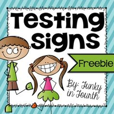 Testing Signs: Need a cute sign for testing? This freebie includes three different signs with the following sayings on them: Quiet please, we are testing!SHHH... Please do not disturb. We are taking our test.Quiet! We are doing our best on our test!These signs can be used outside of testing rooms or on your classroom door!