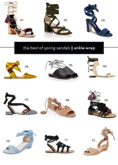 The Best of Spring + Summer Sandals + Shoes || Clogs, Ankle-Wrap, Espadrille Platforms (Budget + Splurge!)