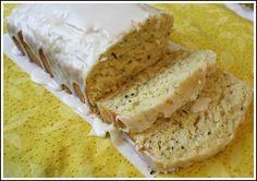 Lemon Zucchini Bread with Lemon Glaze.  omg