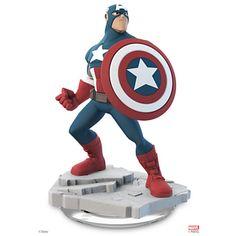 Captain America Figure - Disney Infinity: Marvel Super Heroes (2.0 Edition)