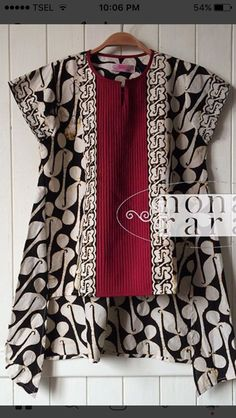 Batik Fashion, Boho Fashion, Fashion Dresses, Fashion Design, Blouse Batik, Batik Dress, Latest Kurti Styles, Latest Pakistani Dresses, Khadi Kurta