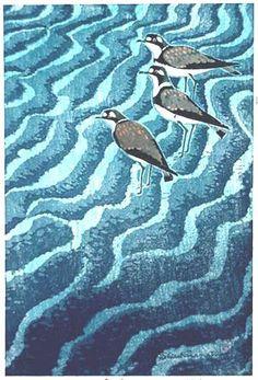 Three Birds by Shiro Kasamatsu