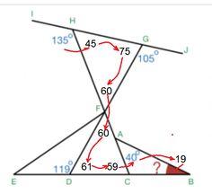 Geometry Problem on Angles and Shapes Warmup: Do The Angle Chasing Dance - Shãmïm Hàsáñ | Brilliant