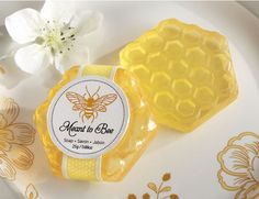 """100 Kate Aspen """"Meant to Bee"""" Honey Scented Honeycomb Soap Wedding Favors Soap Wedding Favors, Creative Wedding Favors, Soap Favors, Bridal Shower Favors, Favours, Wedding Gift Wrapping, Wedding Gifts, Trendy Wedding, Diy Wedding"""