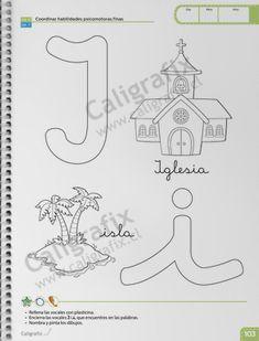 Trazos y Letras Nº1 Emilio, Album, Joseph, Home Preschool, Learning To Write, Letter N, Card Book