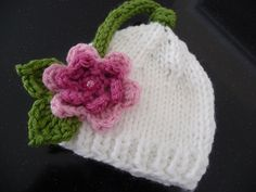 Instant Download PATTERN Sweetness Hat Newborn by myohmycutiepie, $4.50