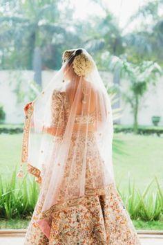 Bridal Details - Pahul & Kanika wedding story | WedMeGood #wedmegood #indianbride #indianwedding #bridaldetails #pinklehenga #lehenga #weddinglehenga
