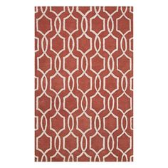 City Jyssica x Russet/Dark Ivory Area Rug Area Rugs, Room Rugs, Nebraska Furniture Mart, Joss And Main, Family Room, Map, Make It Yourself, Contemporary, How To Make