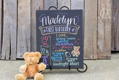 This is the perfect photo shoot prop or birthday present for the birthday boy or girl, which will also make a lasting keepsake. The canvas