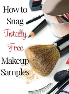 beauty tips How to Snag Totally Free Makeup Samples - Here are helpful tips on how to score some of the hottest beauty products for free! - Find out how you can snag free makeup samples! Makeup is expensive -- sample it before you buy and save. Diy Beauty, Beauty Makeup, Beauty Hacks, Beauty Tips, Beauty Products, Beauty Skin, Homemade Beauty, Beauty Care, Face Beauty