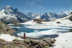 Chamonix Valley Lac Blanc lies 2,330 metres above sea level and overlooks the Chamonix Valley. Enjoy long-distance views across the Chamonix Valley to the Aiguille Verte and the Chamonix Aiguilles.