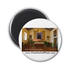 Mission Nuestra Señora de la Soledad Refrigerator Magnets from the Cheshire Cat Photo Store on Zazzle!