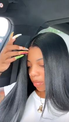 Straight Wigs Lace Frontal Hair Hairstyle Types Female For Black Women – wcwigs Long Curly Hair, Curly Hair Styles, Natural Hair Styles, Curly Wigs, Frontal Hairstyles, Baddie Hairstyles, Hair Quality, Quality Wigs, Hair Laid