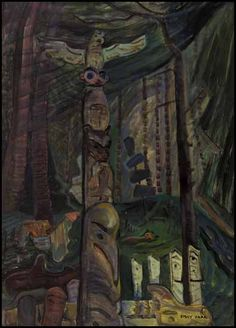 emily carr famous paintings - Google Search