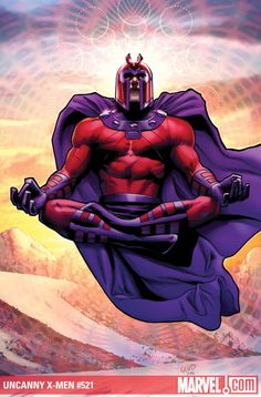 Magneto - Marvel February Solicitation: X-Titles