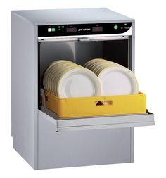MVP, F-18DP, High-temp undercounter dishwasher