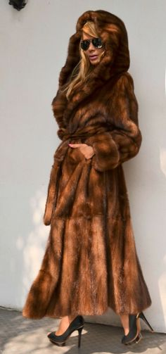 Long fisher fur coat. I have a long faux fur coat that looks very