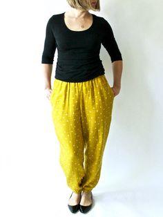 Made by Rae -- Luna Pants Sewing Pattern PDF