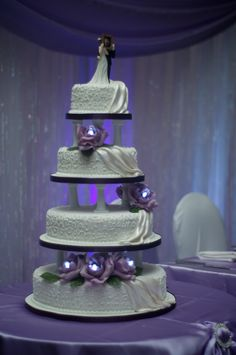 Edible Cake Images Trinidad : kiss baking company in Trinidad.... Wedding cake design ...