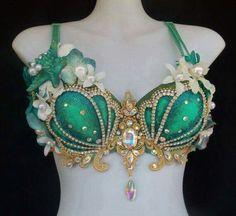 Mermaid bra