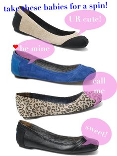 Tom's ballet flats!!  Tom's keeps getting better and better!  ** Erica.... have you seen these???