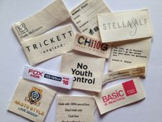 Printed cotton labels http://www.woven-printed-garment-labels.com/