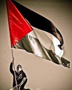 The flag that will never lie down ❤️⚫️⚪️