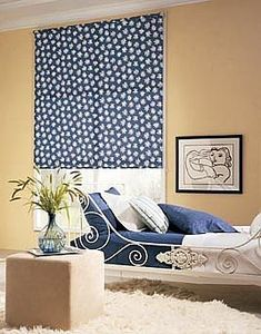 Make you own fabric roller shade  directions at Nate's see Creative Shades