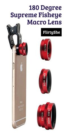 Take your selfie game to the next level with this 3 in 1 lens set from FlirtyShe.
