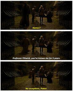 Harry Potter and the Half-Blood Prince | Funny scene between Professor Flitwick, Luna, & Harry