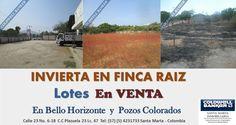 Invierta en #fincaraiz Lotes en #venta. #santamarta #inmobiliaria