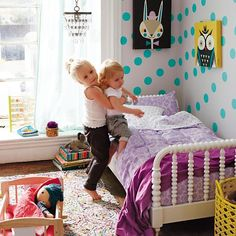 Jenny Lind Toddler Bed in Beds | The Land of Nod....is there anything cuter than this bed!?!?!