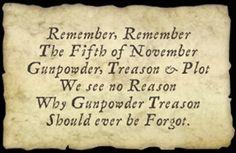 remember remember th
