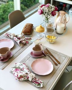 Dining Table Decor Everyday, Dinning Table, Kitchen Items, Kitchen Decor, Breakfast Platter, Brunch Table, Romantic Dinners, Deco Table, Decoration Table